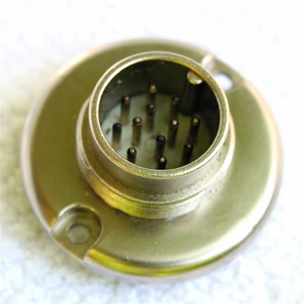 Amphenol Tuchel 12 Pol Einbaustecker T3617-006 für Neumann SM2 / SM23 / SM69