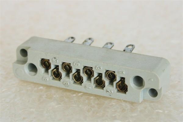 Amphenol Tuchel 8 pin connector T2001 NOS