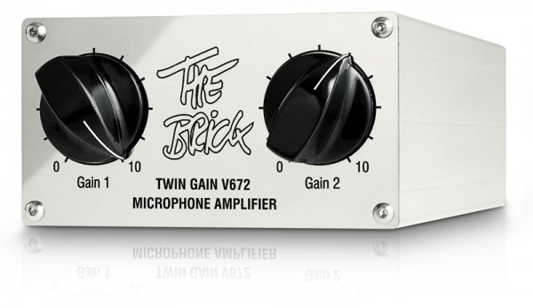"SonicWorld ""The Brick"" Class-A Mono Mic/Instrument Preamp"
