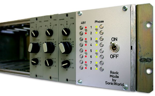 SonicWorld Custom V276 Rack Side