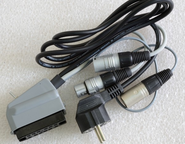 SonicWorld adaptercable for Maihak/ Telefunken / Siemens / TAB V72 and V76 with 12pole connector and XLR IN/OUT AND external +48V feed