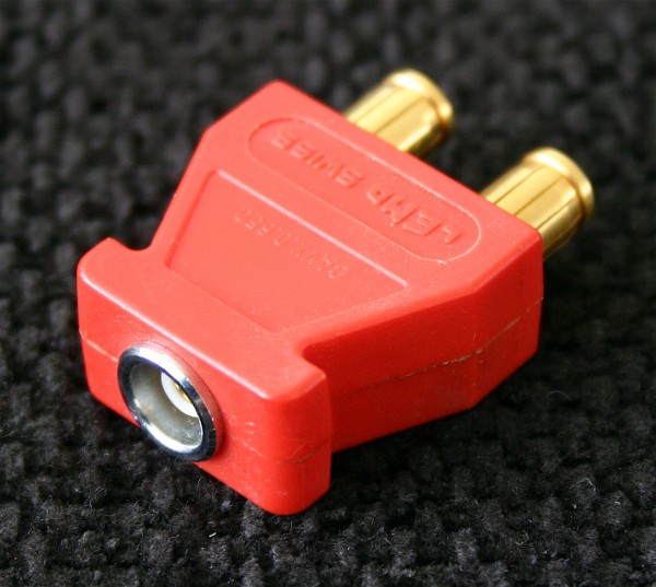 Lemo Triax Connector, used, red