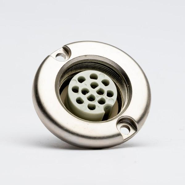 Amphenol Tuchel 12 Pin Female Receptacle T3618-000 for Neumann SM2,SM23,SM69, NOS