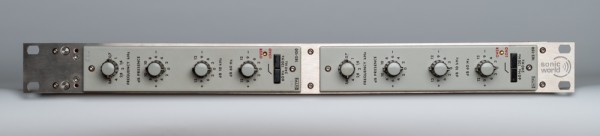 Bundle SonicWorld FR2X-NTP182-150 stainless steel rack with 2 NTP 182-150 Equalizer modules