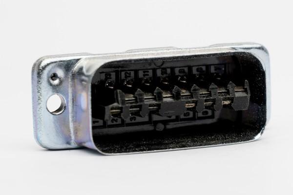 Amphenol Tuchel 13pole MALE Connector T2706 for Siemens W295, EMT modules, NEW