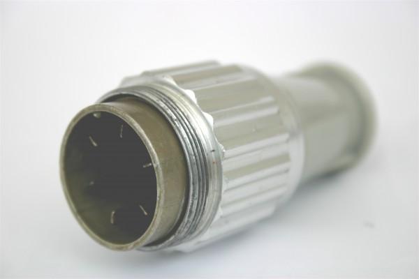 Amphenol Tuchel 6 Pol Kabelstecker T3037-010 für Neumann U47 / U48 gebraucht