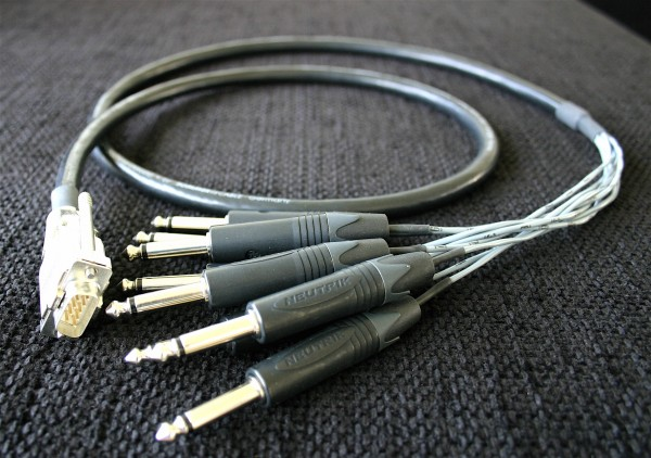 onicWorld DB9 Custom Kabel Spider 8 Kanal Direct Out