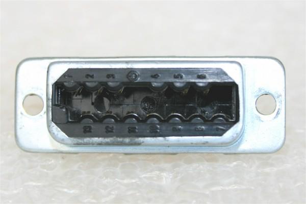 Amphenol Tuchel 13pole FEMALE Connector T2707 f. Siemens W295, EMT modules, USED