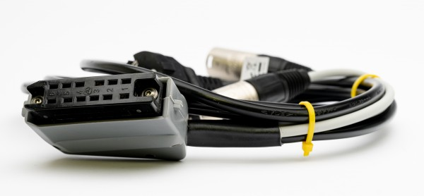 SonicWorld adaptercable for TAB V74 with 12pole connector and XLR IN/OUT