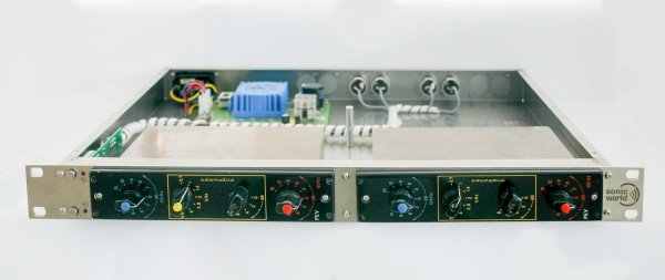 SonicWorld FR2X-PEV for 2 Neumann PEV Equalizer Front