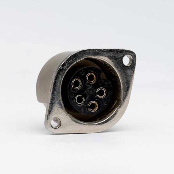 Amphenol Tuchel 5 Pin Female Receptacle T3015-000 / Used