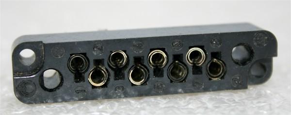Amphenol Tuchel 8pol Federleiste T2001 f. V41/NTP/ EMT