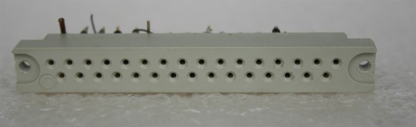 31 pole female Connector for Telefunken/ TAB Modules USED