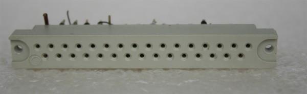 31 pole female Connector for Siemens/Telefunken/ TAB Modules USED