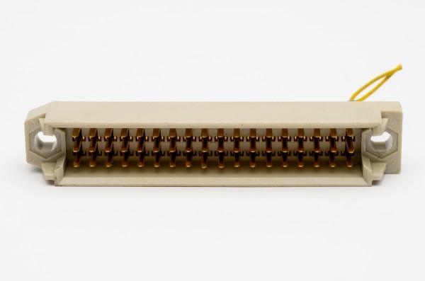 Siemens DIN 41618, 54 polige vergoldete Messerleiste gebraucht