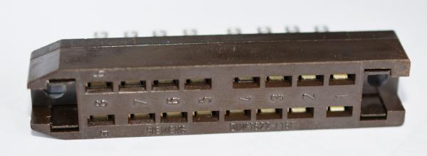 Siemens DIN 41622 16pole Female Connector NOS